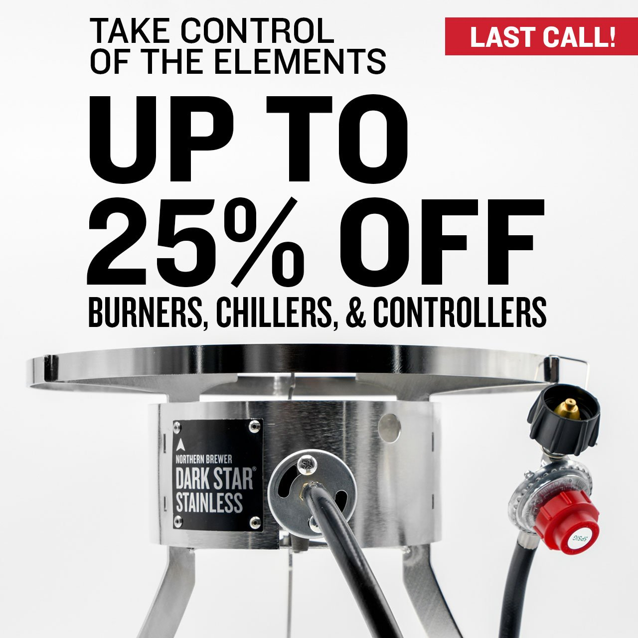 Up to 25% Off Burners, Heaters and Temp. Control