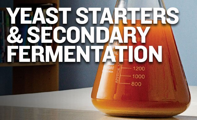 Yeast Starters & Secondary Fermentaiton