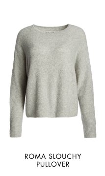 ROMA SLOUCHY PULLOVER