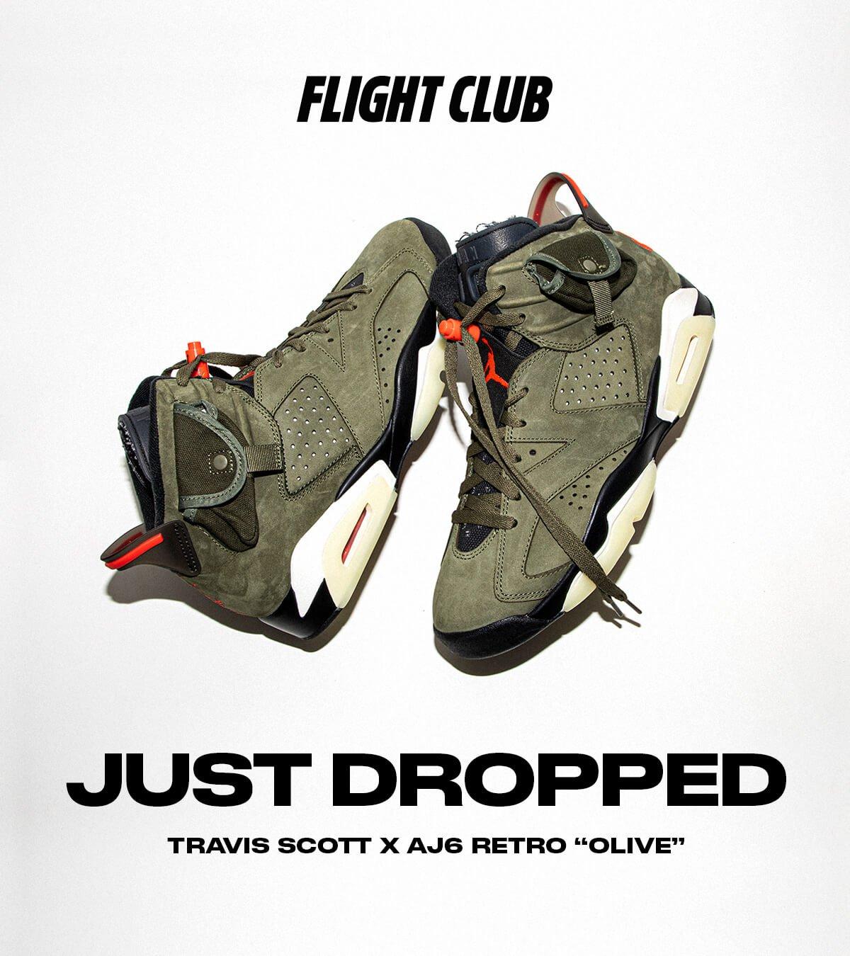 Travis Scott x Air Jordan 6 available