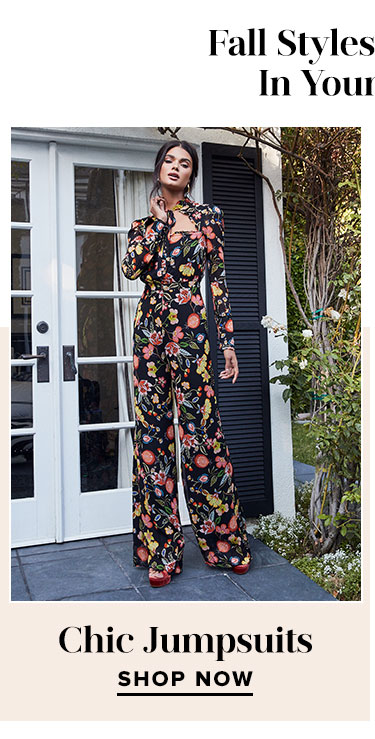 Fall Styles You Need In Your Closet. Chic Jumpsuits. Shop now.