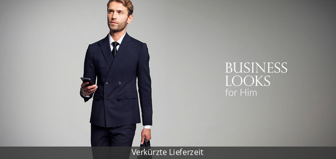 Business Looks for Him