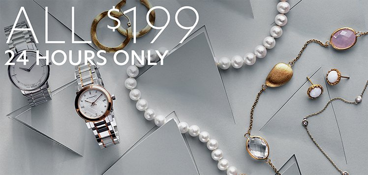New Price Alert: Jewelry & Watches