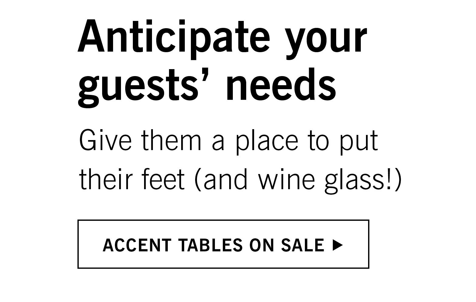 Accent Tables on Sale