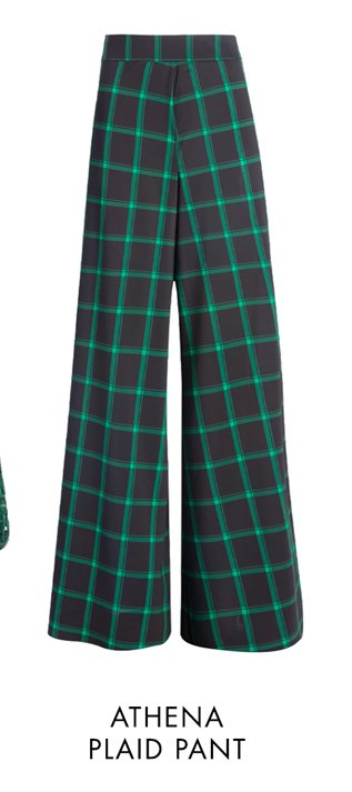 ATHENA PLAID PANT