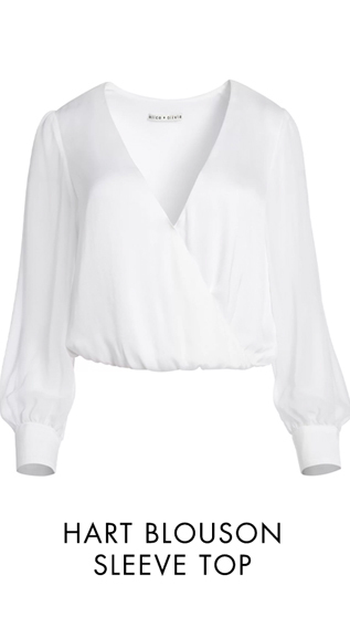 HART BLOUSON SLEEVE TOP