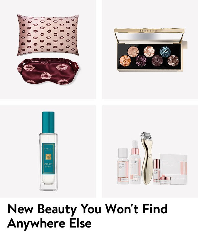 New beauty items you'll find only at Nordstrom.