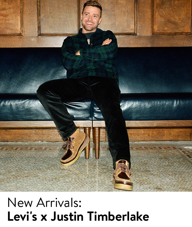Justin Timberlake's collaboration with Levi's, now at Nordstrom.