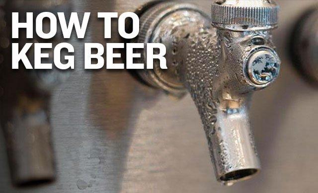 How to Keg Beer