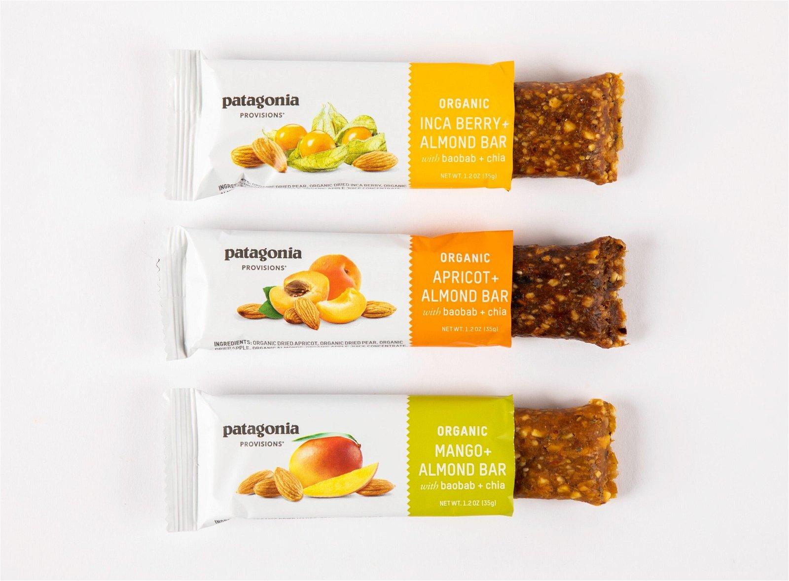 Organic Fruit + Almond Bars Image