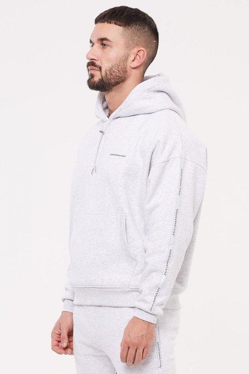 Future Grey Marl Hood