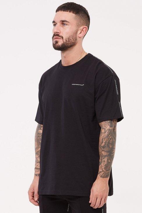 Future Oversized Black T-shirt