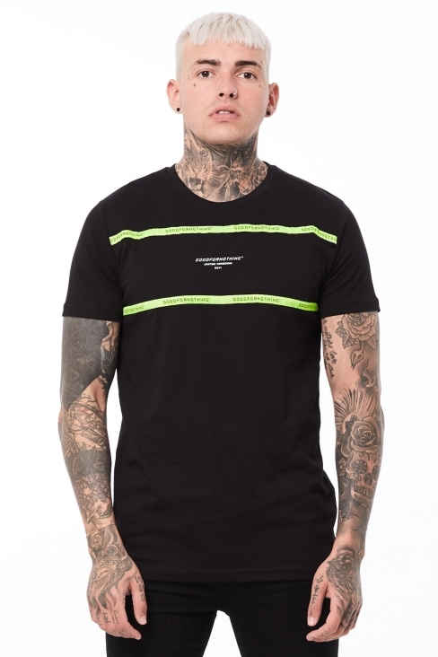 Future Block Black T-Shirt