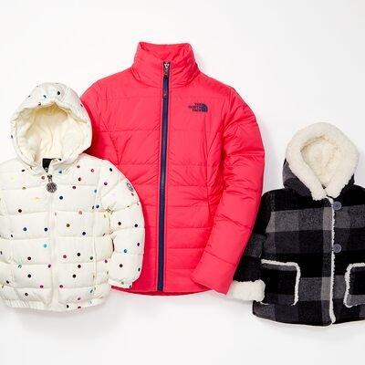 The Coat Shop: Girls' Outerwear