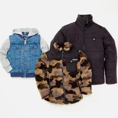The Coat Shop: Boys' Outerwear