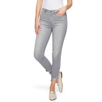 Stiletto High Rise Skinny Crop Jean