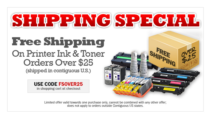 Free Shipping Today Only! Display images to get the Ink4Less Free Shipping deal coupon code.