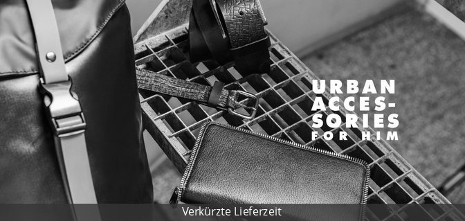 Urban Accessories for Him