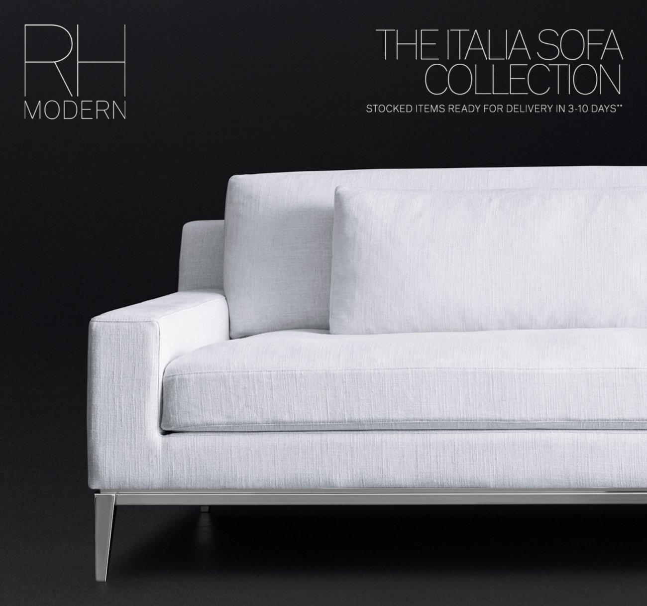 Pleasing Restoration Hardware The Italia Modena Sofa Collections Frankydiablos Diy Chair Ideas Frankydiabloscom