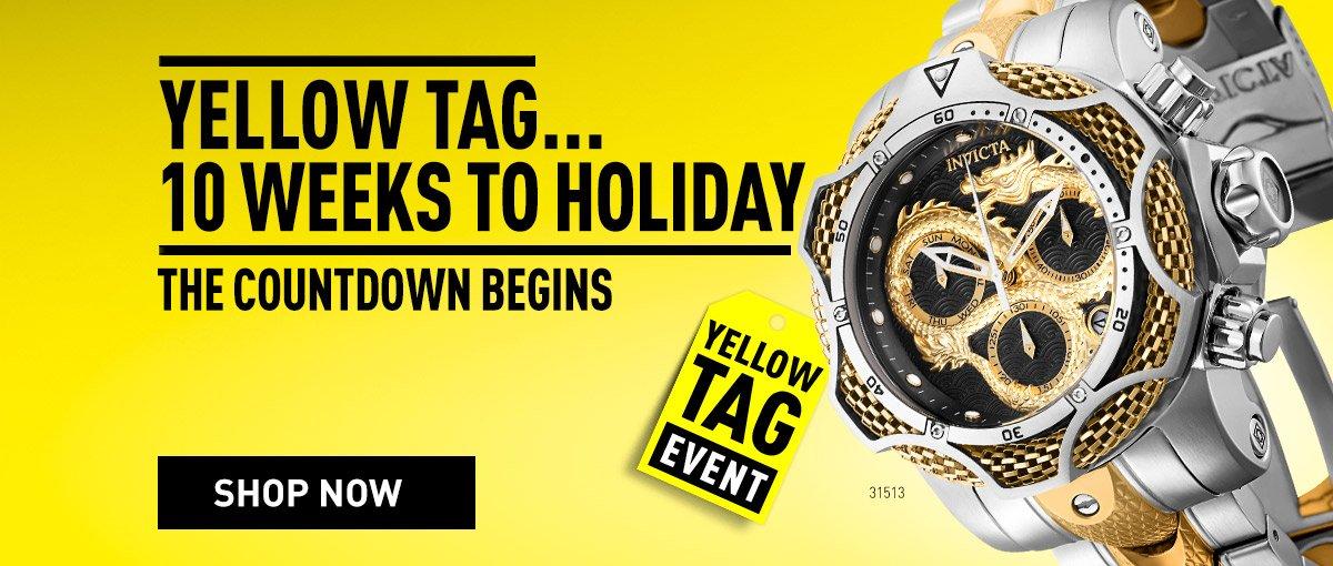 Invicta Yellow Tag Sale