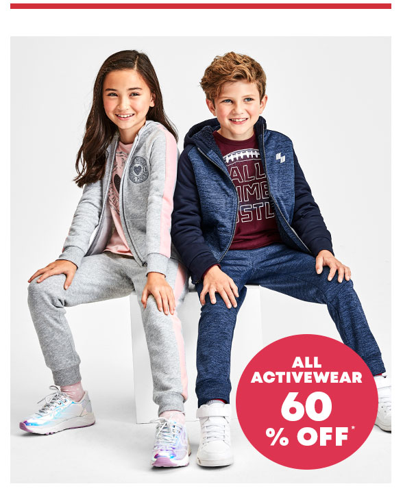 60% Off All Activewear
