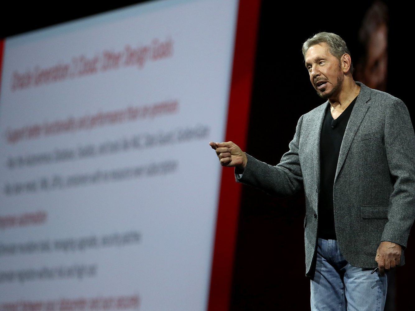 Larry Ellison and insiders say that these 5 execs are on the short list to one day be the CEO of Oracle