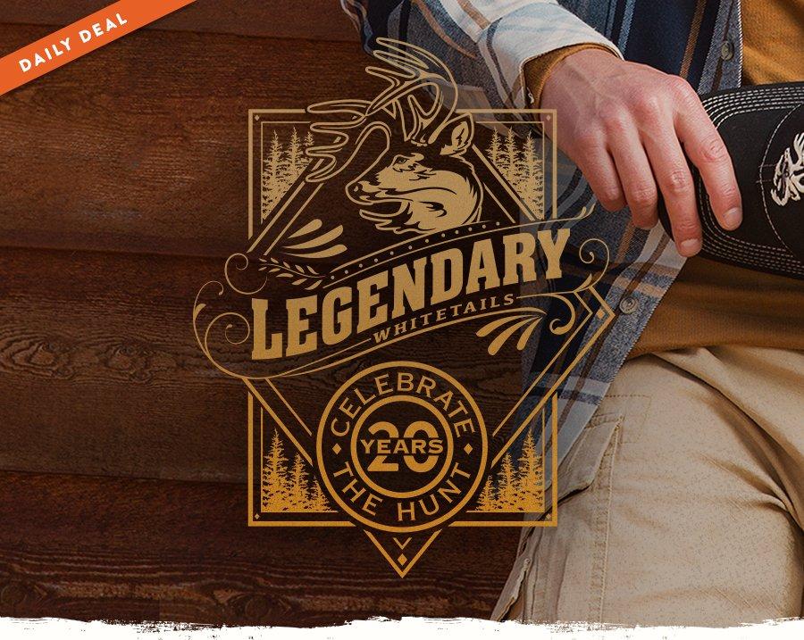 Legendary Whitetails 20th Year Anniversary