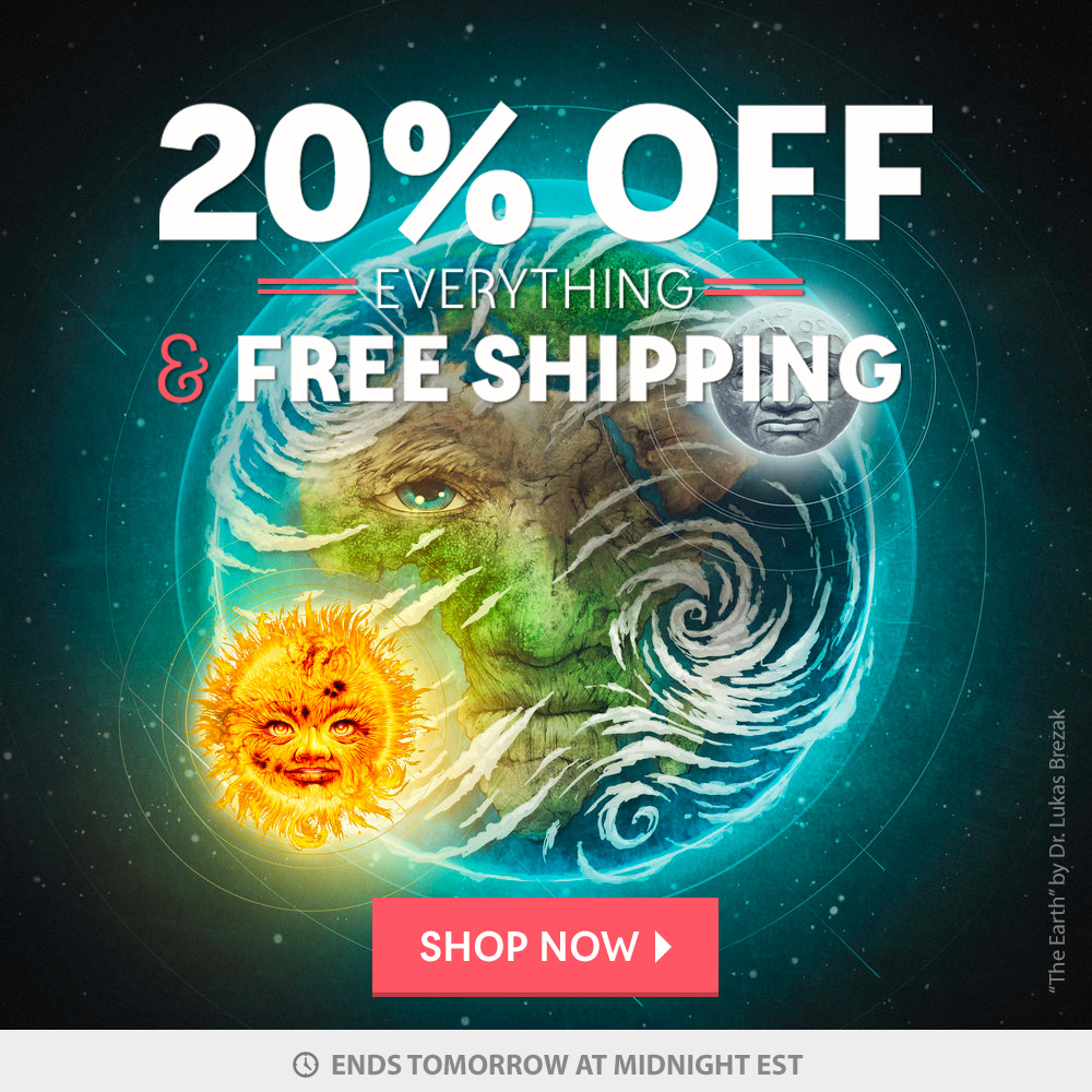 20% Off Everything & free Shipping