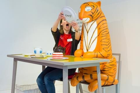 The Tiger Who Came to Tea exhibition at the Discover Children's Story Centre