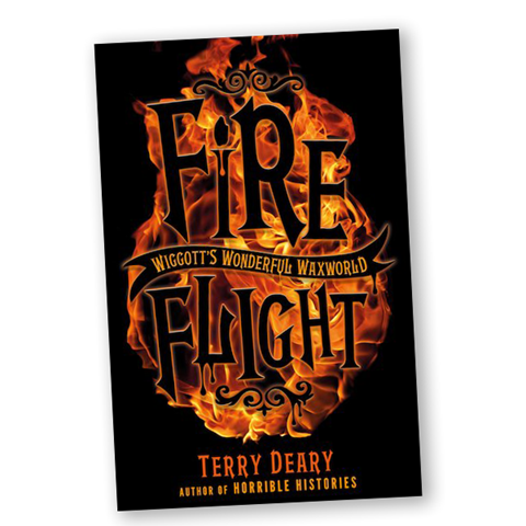 Wiggott's Wonderful Waxworld: Fire Flight