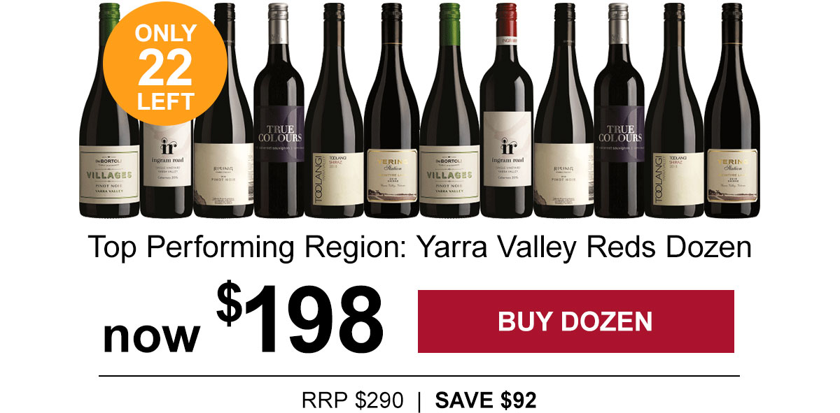 Exceptional Yarra Valley Reds dozen | Now $198 - only 22 remaining!