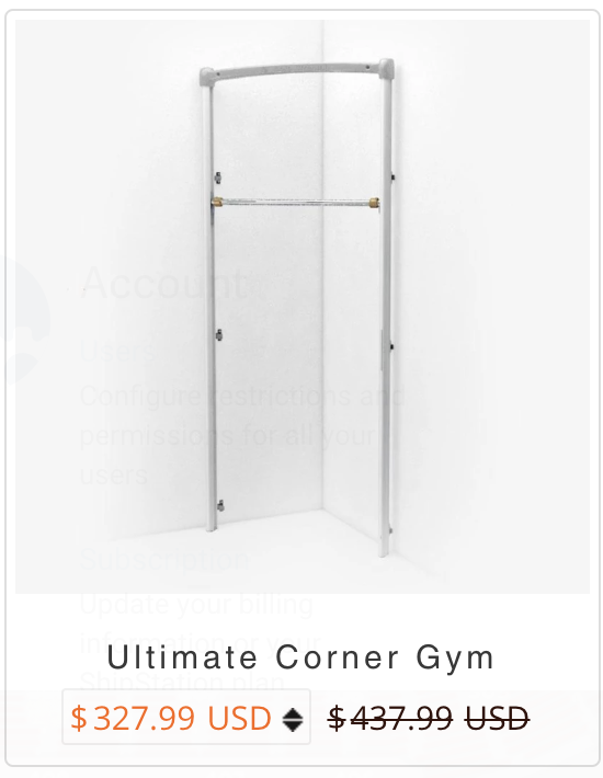 Ultimate Corner Gym