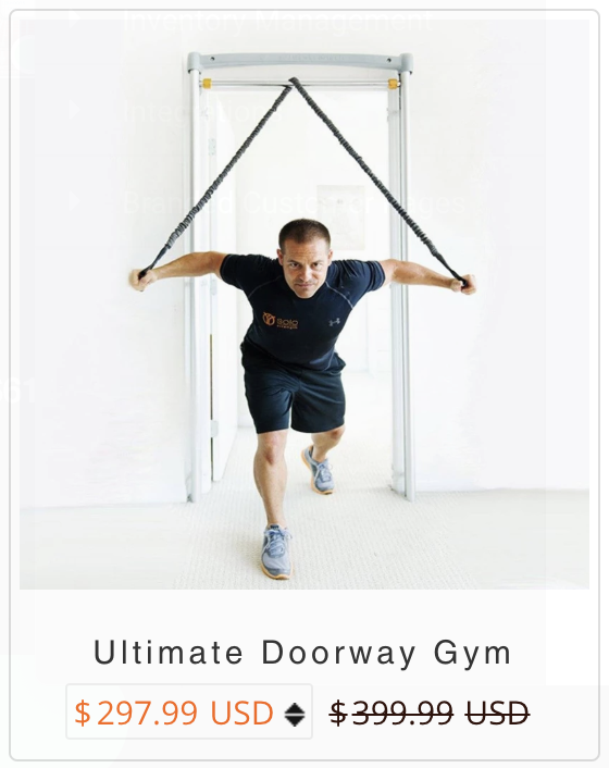 Ultimate Doorway Gym