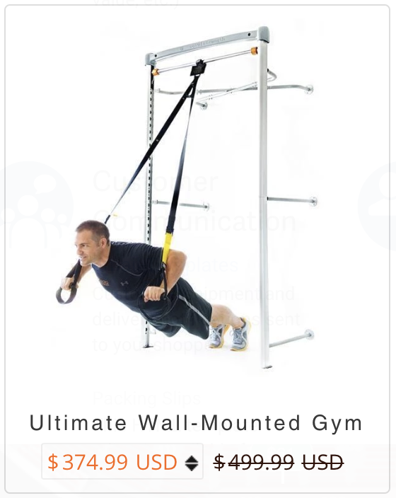 Ultimate Wall Mount Gym