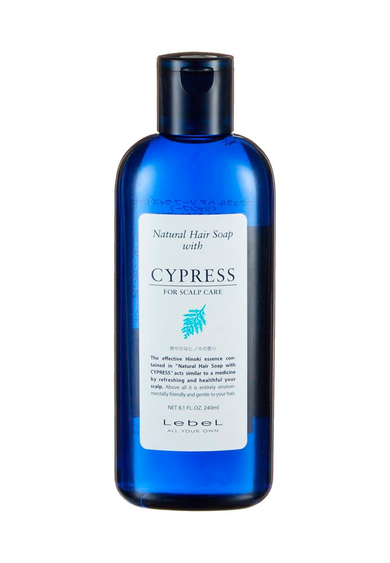 Lebel Natural Hair Soap Treatment Shampoo Cypress - Шампунь с хиноки (японский кипарис...