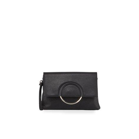 Urban Originals Textured Ring Clutch Bag