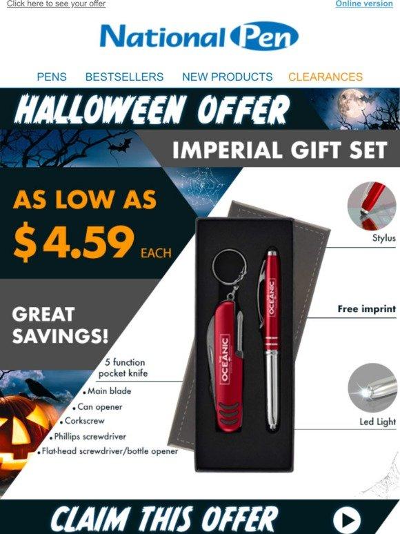 Velvet Bag and 5 refills Rainbow Crystal Gift Set with Pen YELLOW FreePost