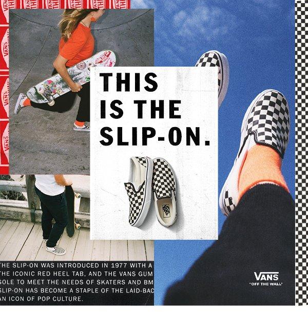 Platypus NZ: VANS: Classic Slip-on   Milled