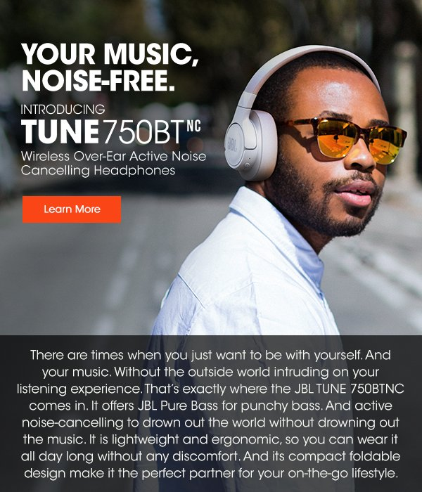 Introducing Tune 750BTNC | Your Music. Noise-Free