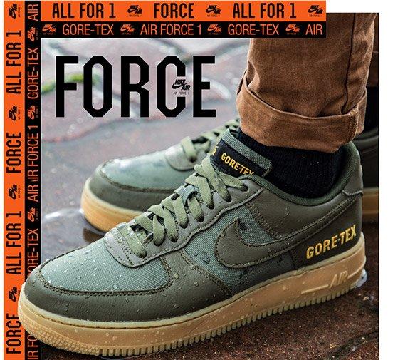 air force 1 gore tex kaki
