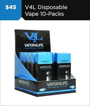 $45 V4L Disposable 10-Packs