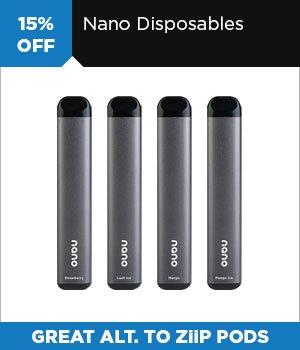 15% off Nano Disposable Vapes