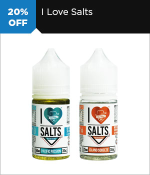 20% off I Love Salts