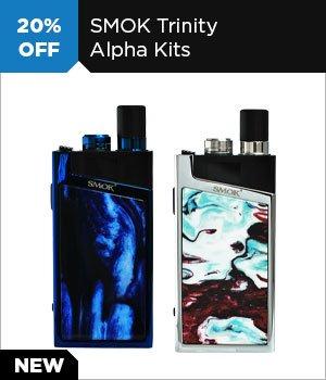 20% off SMOK Trinity Alpha Kits
