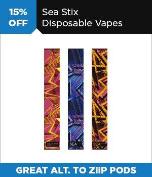15% off Sea Stick Disposable Vapes