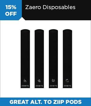 15% off Zaero Disposable Vapes