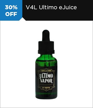 30% off Ultimo eJuice