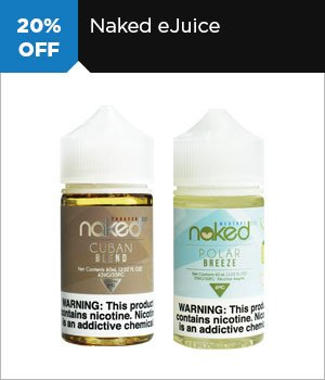 20% off Naked eJuice