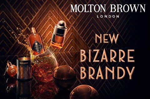 Molton Brown Bizarre Brandy New Collection