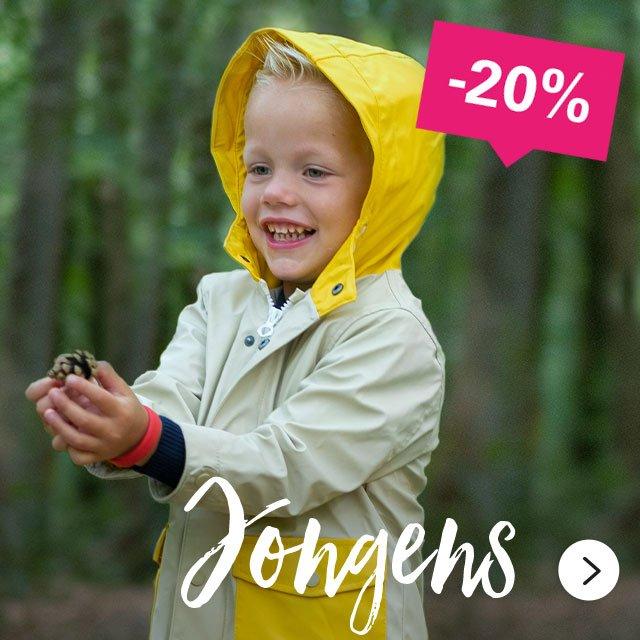 -20%   Jongens >